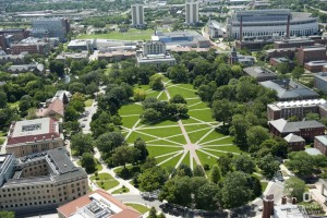 Ohio State University - aerial view. Copyright OSU. All rights reserved.