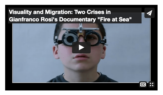 Visuality and Migration. A video essay by Erik Scaltriti