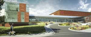 Renderings of addition to the Veterinary Medical Center, 2014 (Provided by Ohio State Univ.)