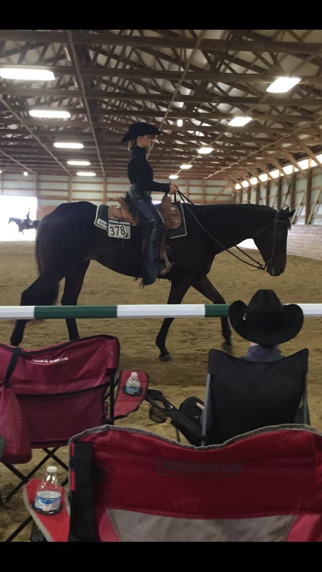 Ohio State Equestrian Team Sidney Long