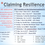 Claiming Resilience