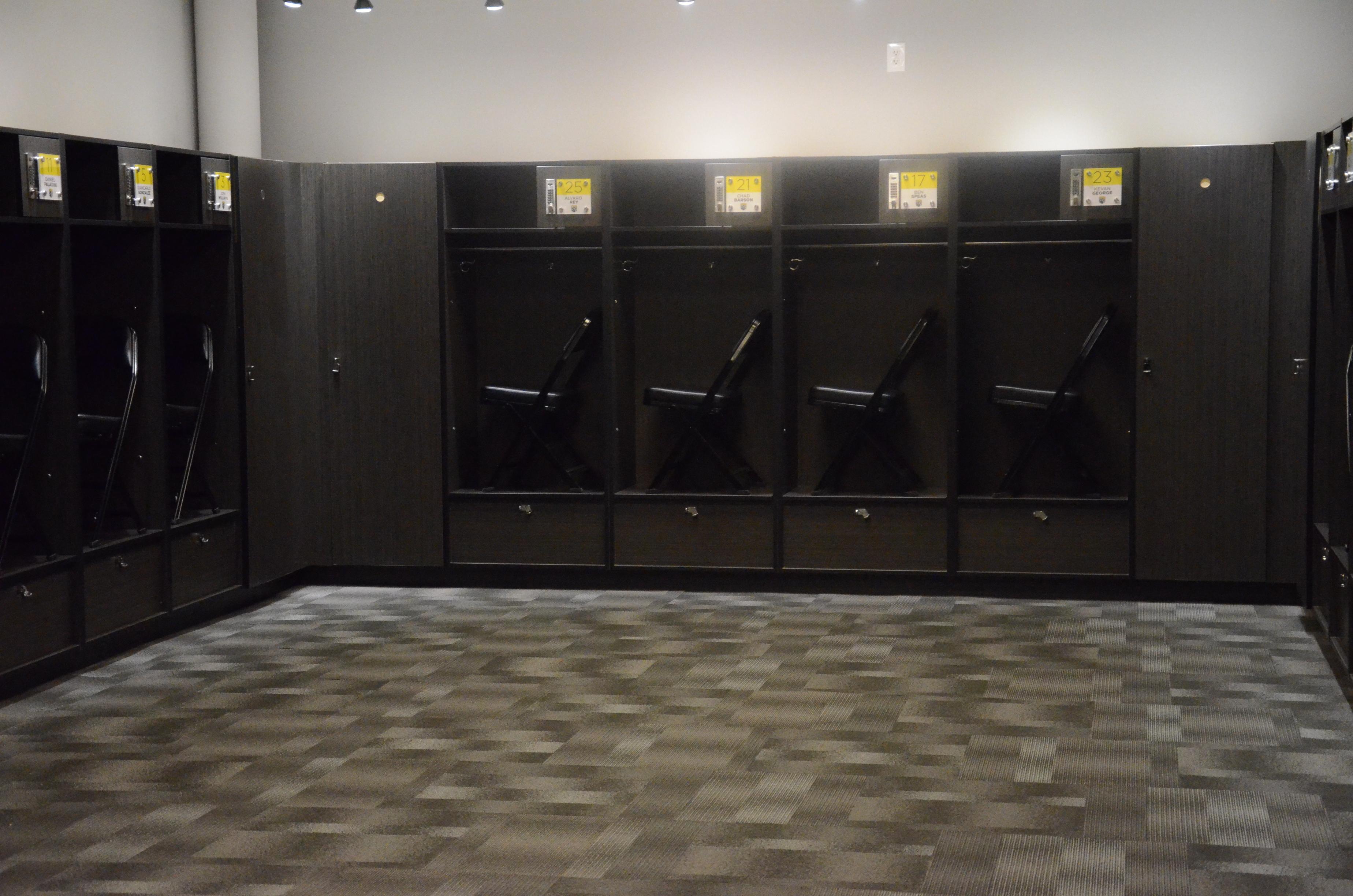 Anime Locker Room Background