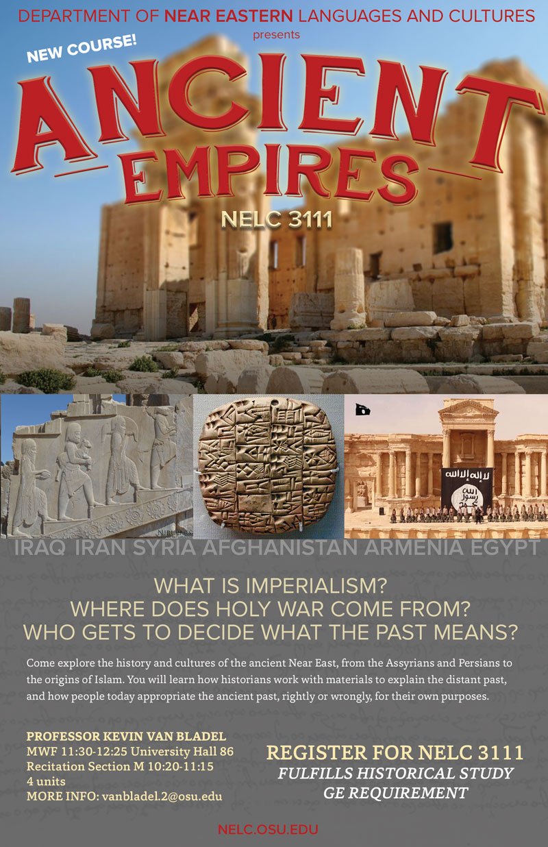Ancient Empires Course Poster