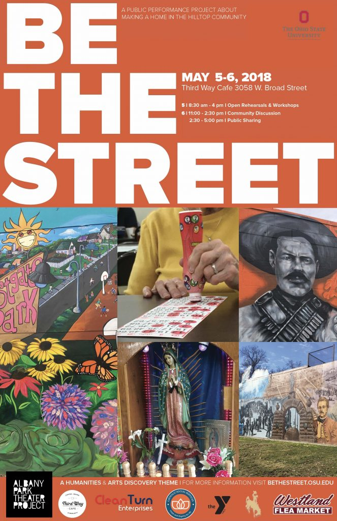 Be the Street Poster DRAFT
