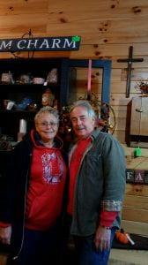 Richard with his wife, Wanda Hancock