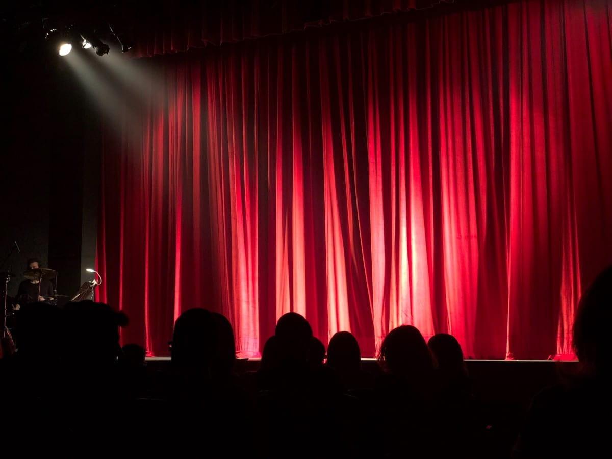 image of theatre curtain
