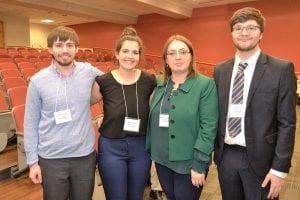 Four conference participANTS
