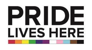LGBTQ+ pride logo