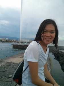 In Geneva, one of the places I went to on my weekend trips.