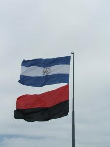 Nicaraguan_and_Sandinista_flags