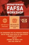 FAFSA Workshop - deadline 2/1/2020