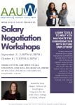 Workshop: Salary Negotiation from AAUW