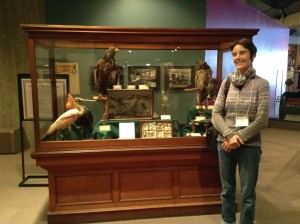 Victorian Era Specimens on Display at the Ohio History Connection.