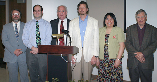 Speakers at the 2005 Museum celebration