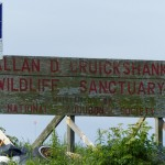 Sign for Allan D. Cruickshank Wildlife Sanctuary