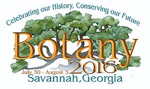 Logo Botany Conference 2016