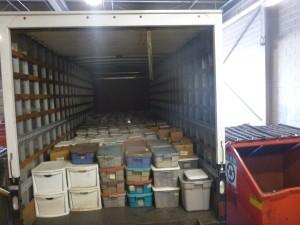 Truck full-o'-fish