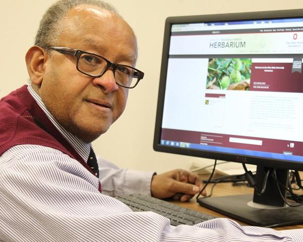 Mesfin Tadesse, curator OSU herbarium