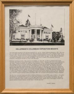 write-up by Ronald L Stuckey about Kellerman's Columbian exposition mounts