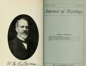 Photo of WA Kellerman in the Journal of Mycology