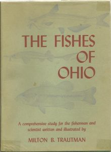 book cover Fishes of Ohio by Milton B Trautman