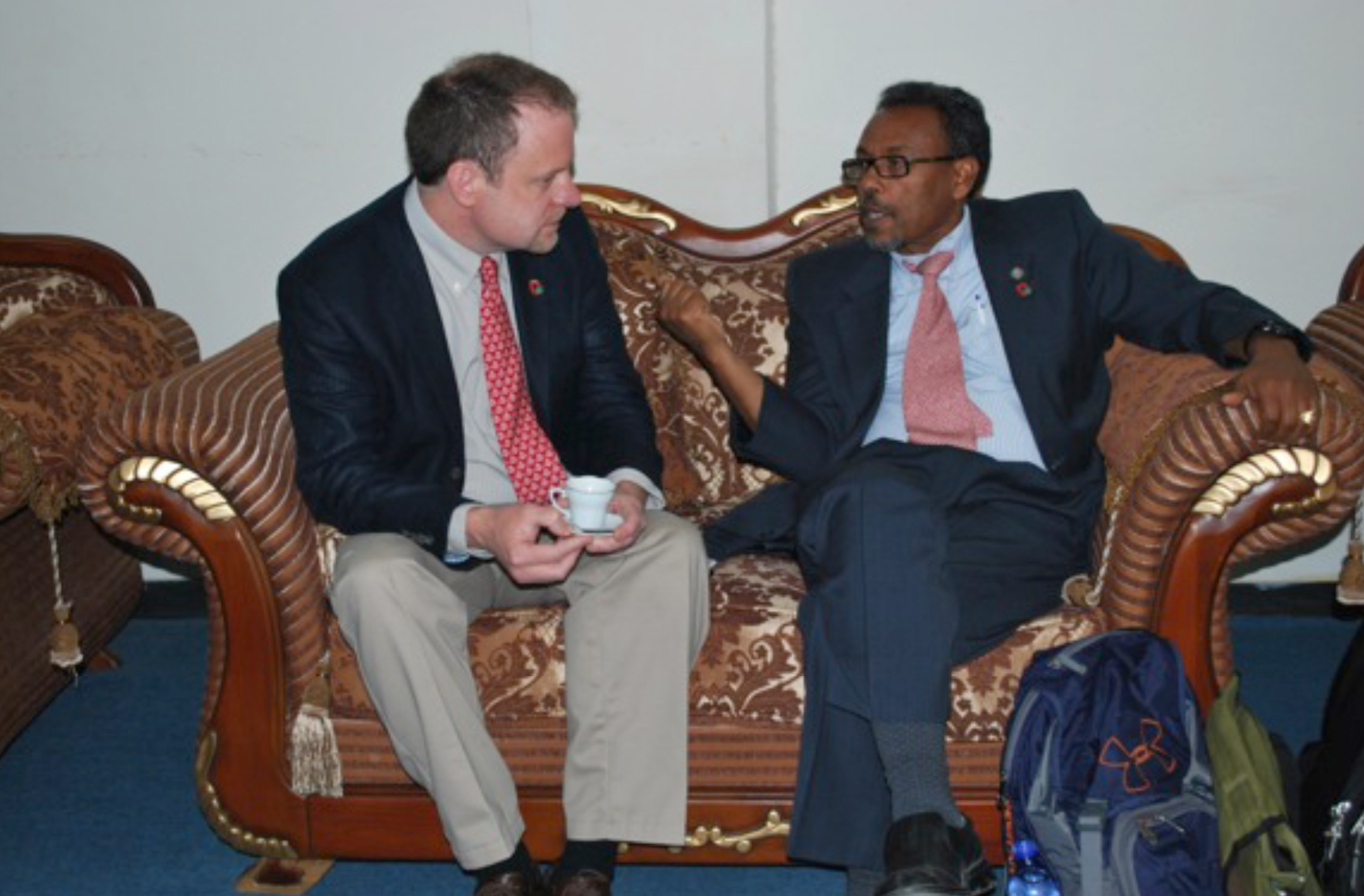 We were welcomed to the University of Gondar by President Mengesha Admassu. With incence wafting through the room, we were served coffee and talked with senior leadership of the University.  President Admassau expressed the great value that the University of Gondar placed on its collaboration with Ohio State.