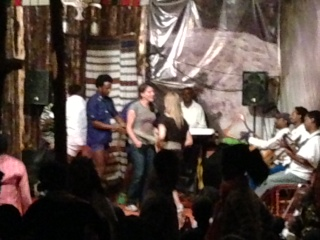 ally dancing