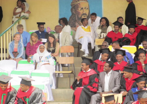 University of Gondar graduation ceremony
