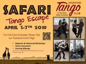 safari tango dance weekend
