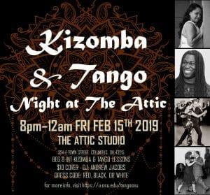 kizomba and tango dance night