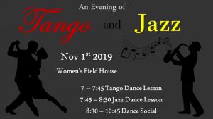 tango and jazz dance night