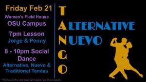 alternative tango night february
