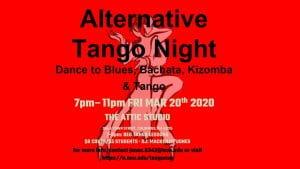 alternative tango night march