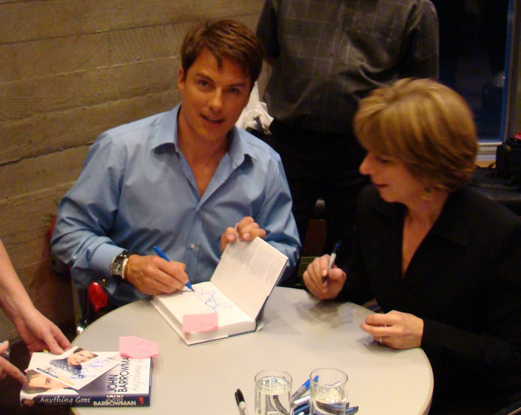 Image of book signing