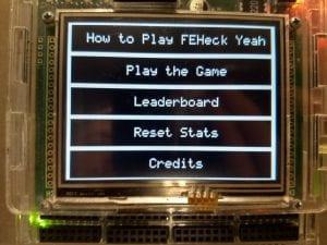 FEHeck Yeah menu