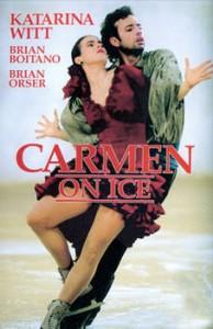 Katarina played herself in the film Carmen on Ice