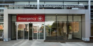 Emergency Department at University Hospital