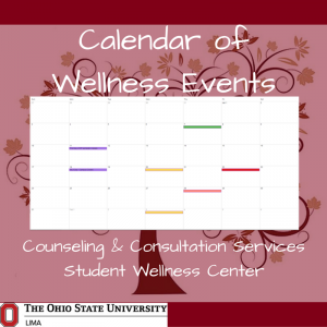 Calendar of Wellness Events