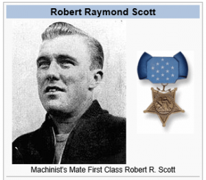 Robert Scott - the Navy solider Scott Hall was named in honor of