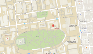 hayes hall map