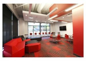 Lobby in new dorms
