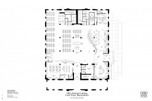 18th Avenue Library floor plan