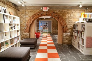 Basement arched walk-throughs