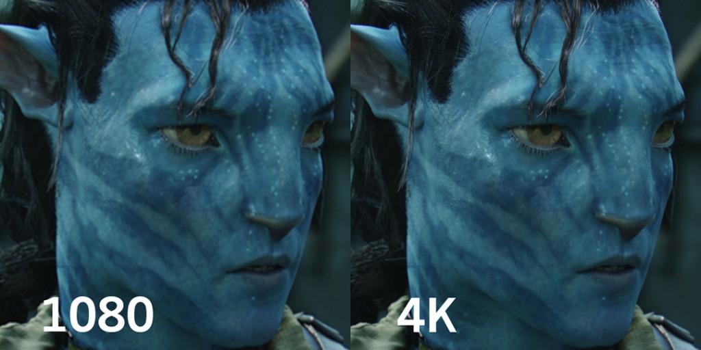 1080 vs 4K