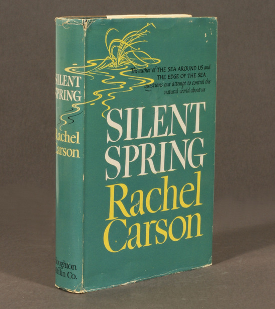 in 1962 rachel carson published what is now recognized as one of the most important books in conservation literature silent spring