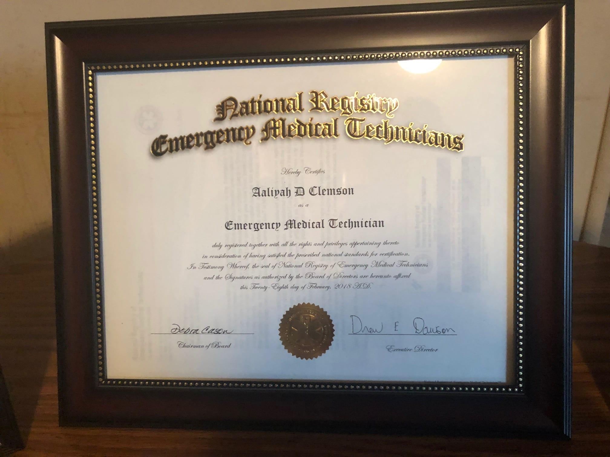 Aaliyah Clemsons Eportfolio Honors Scholars E Portfolio