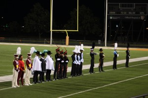The Drum Majors.