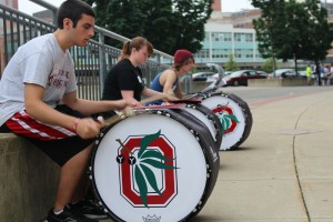 Bass Drum Sectional.