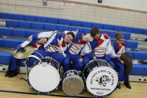 Percussion Section silly picture!