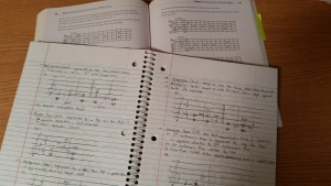 Some of the music theory and guitar theory material I studied during my STEP experience.
